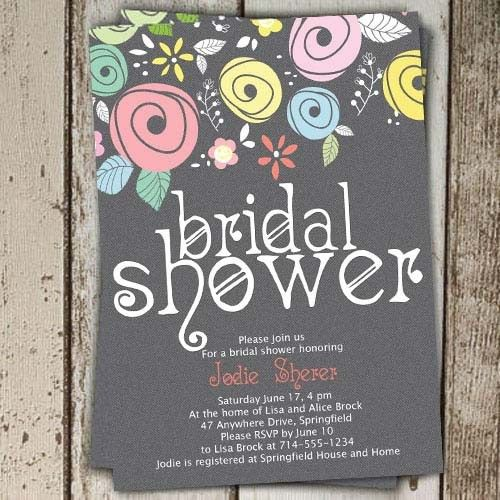 Free Printable Bridal Shower Invitations - dhavalthakur.Com