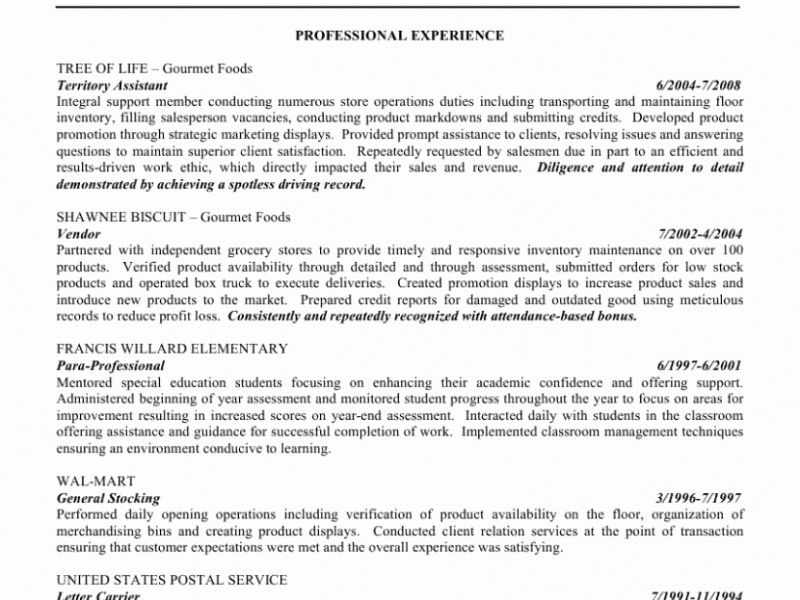 sample resume general objectives. the best resume objective resume ...