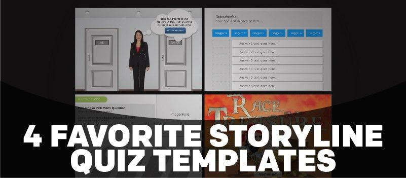 4 Favorite Storyline Quiz Templates | eLearning Brothers