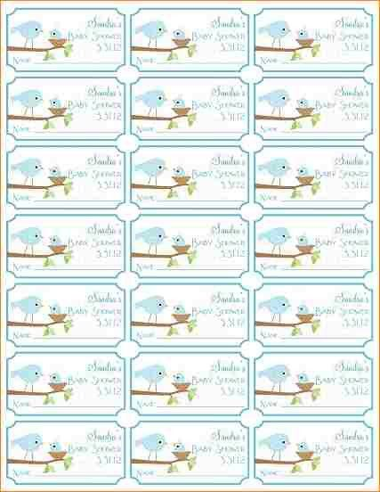 8+ free printable baby shower raffle tickets template | academic ...