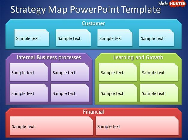 presentation template strategy strategic planning powerpoint ...