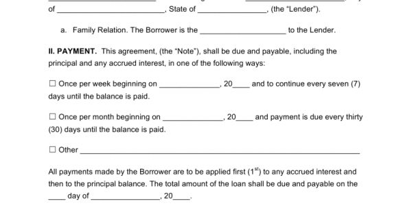 Loan Agreement Letter Between Two Parties Loan Agreement Between .  Agreement Letter Between Two Parties For Payment