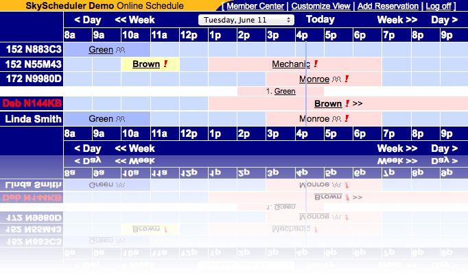 SkyManager - Online Aircraft Scheduling & Management