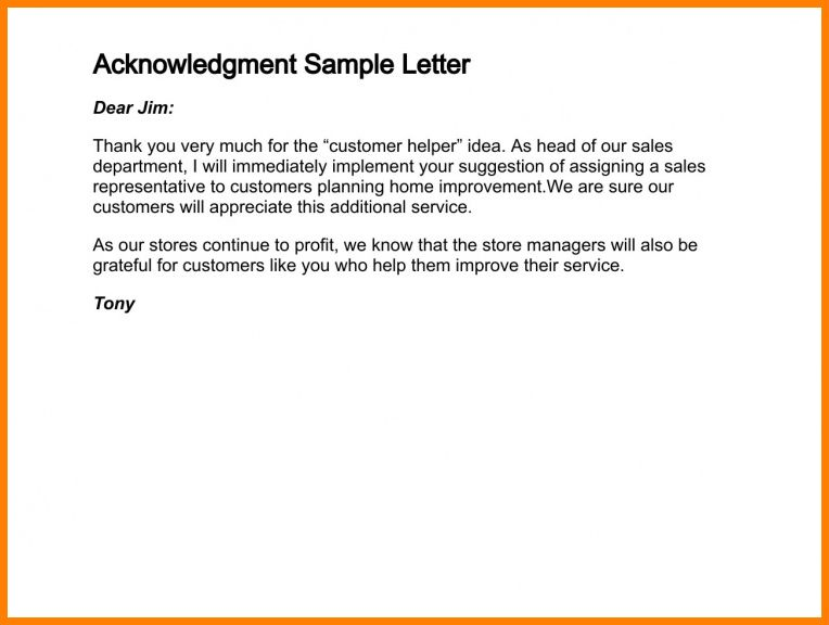 7+ acknowledgement letter for payment made | report example