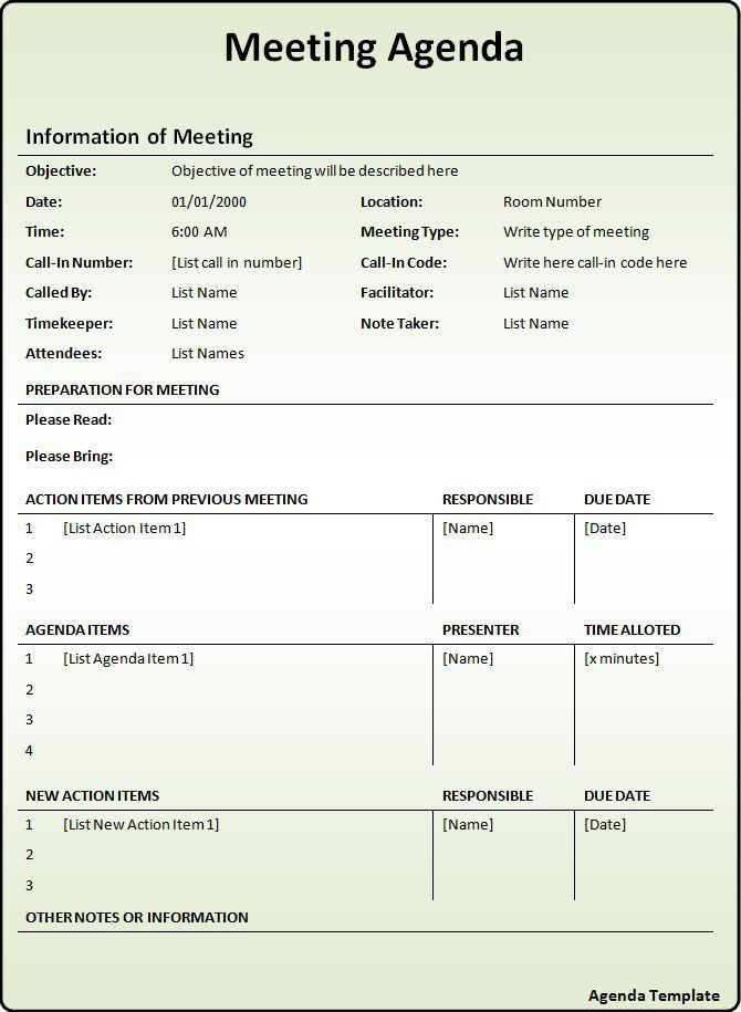 Project Meeting Minutes Template. Meeting Minutes Sample Template ...
