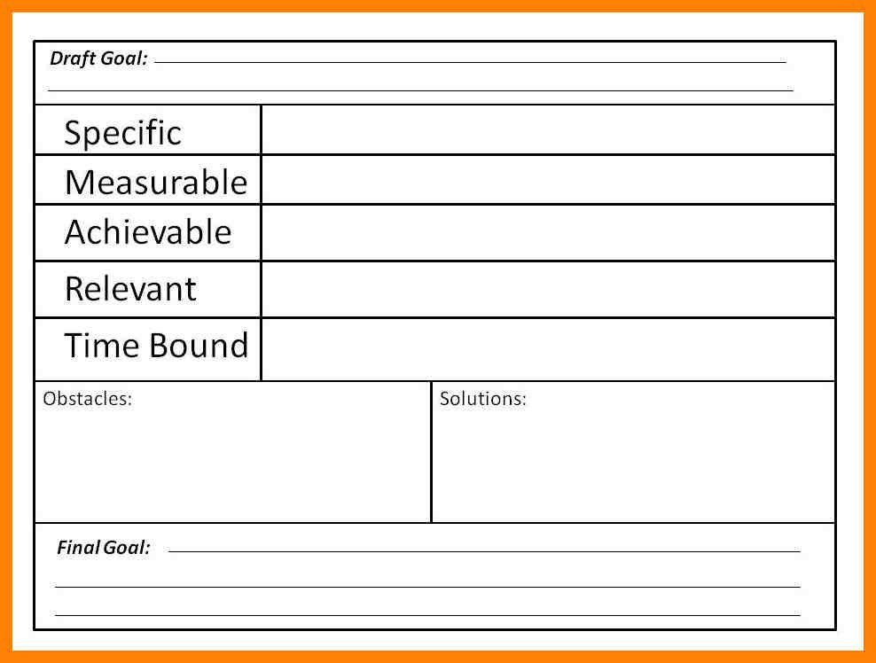 Smart goal template 48 smart goals templates examples worksheets smart goal template goal sheet template 10 free pdf documents pronofoot35fo Gallery