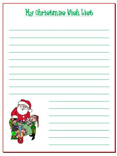 santa letters do it yourself | georgia printable oil change ...