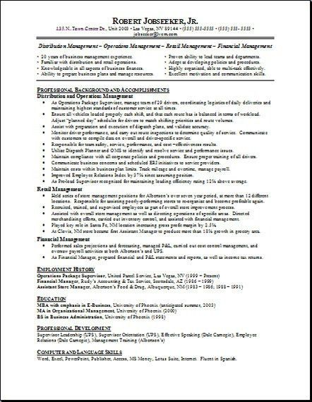 Resume Sample Resume Objectives Sample Resume objectives