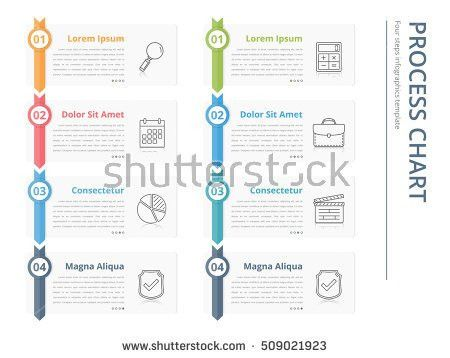 Process Chart Template. Vertical Process Chart, Flow Chart ...