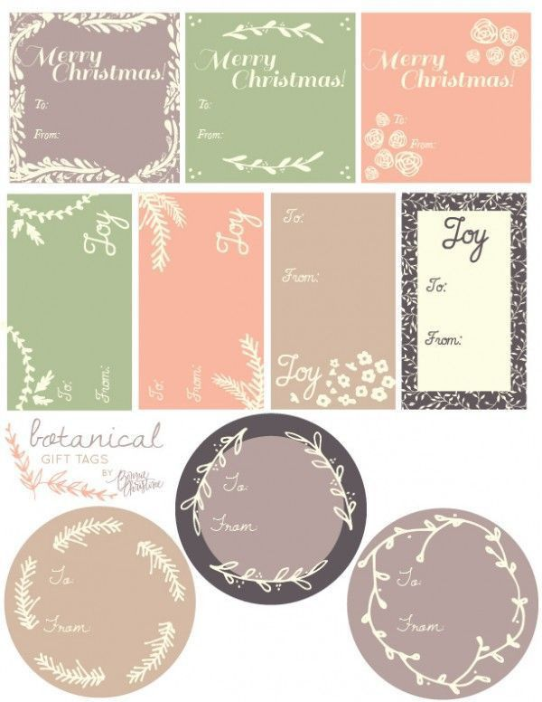 Best 20+ Christmas labels ideas on Pinterest | Christmas tags ...