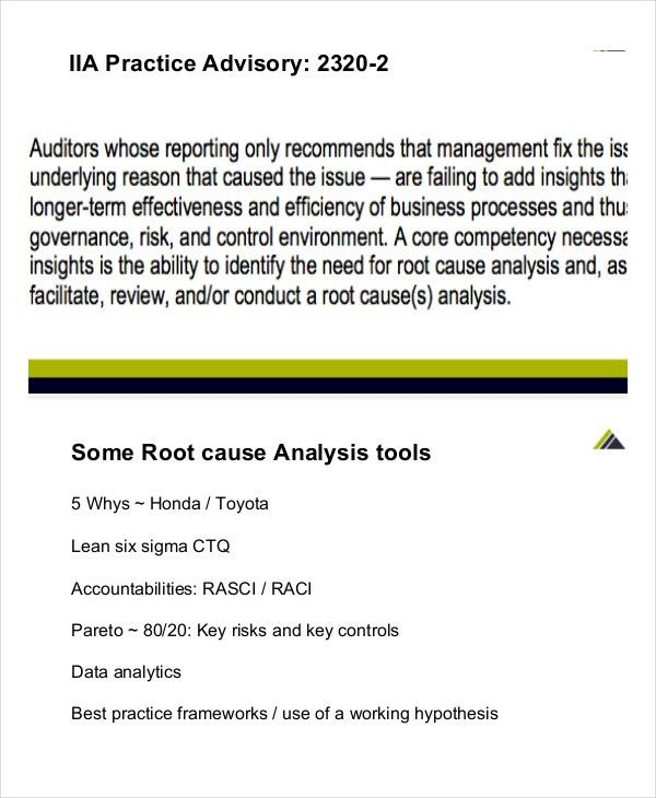 Root Cause Analysis Template - 8+ Free Word, PDF Documents ...