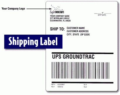 Top 4 Layouts Of Shipping Label Templates - Word Templates, Excel ...