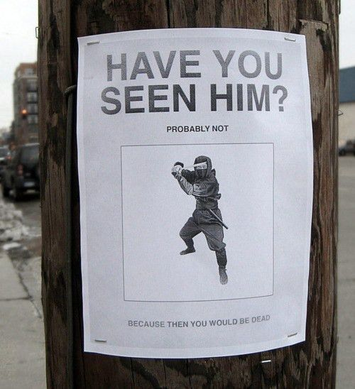 30 hilarious street posters you certainly haven't seen around ...