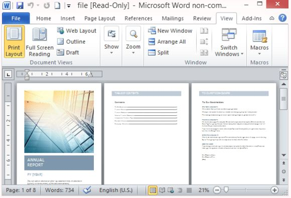 Word Template Report Papers And Reports Officecom 17 Business – Business Report Template Word