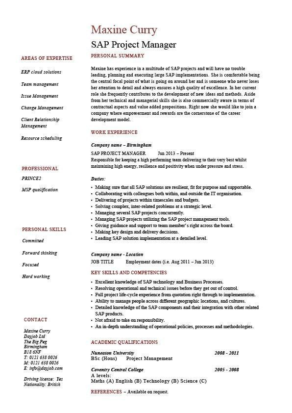 junior project manager resume sample doc make resume. civil ...
