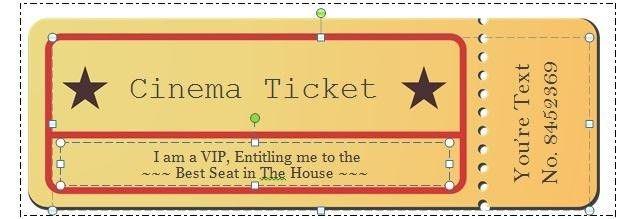 Free Ticket Maker Template | Samples.csat.co