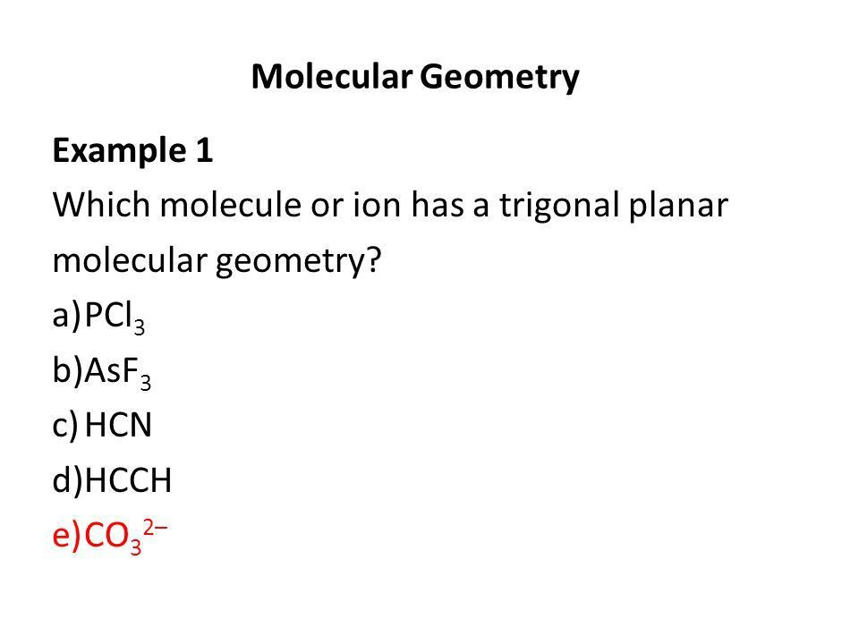 CHM 2045 Molecular Geometry & Chemical Bonding Chapter ppt video ...