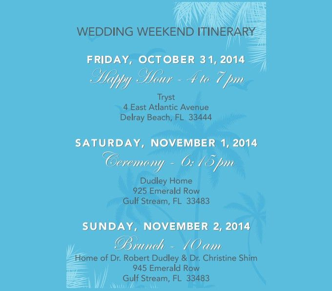 Wedding Weekend Itinerary Template - 7 Free Word, PDF Documents ...