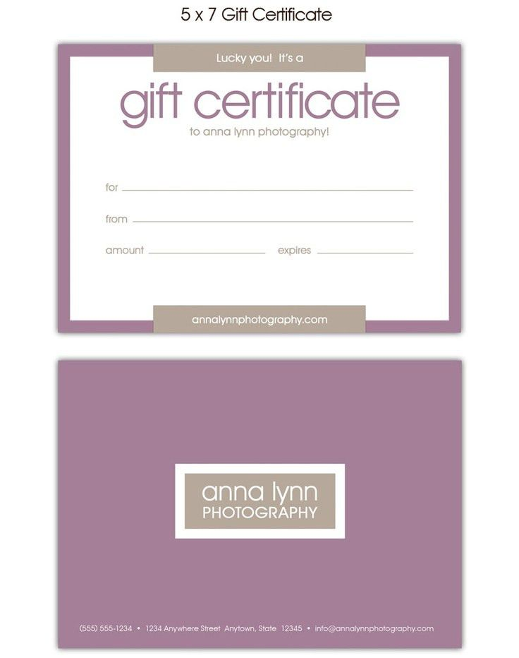 1000+ images about salon gift voucher certificate templates on ...