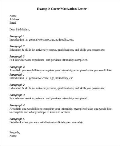 Letter Examples - 120+ Examples in PDF, Word