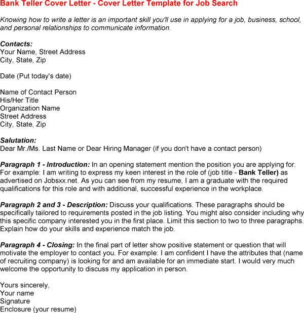 10 bank teller cover letter budget template letter bank teller ...