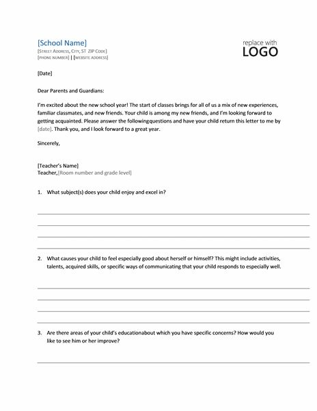 Request for student profile (form letter) - Office Templates
