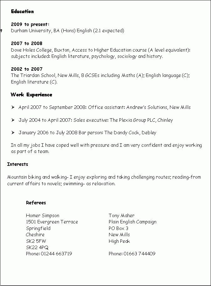Language Skills Resume - CV Resume Ideas