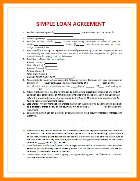 9+ loan agreement letter | addressing letter