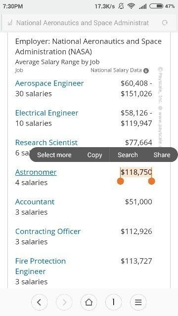 The average salary of an astrophysicist in India - Quora