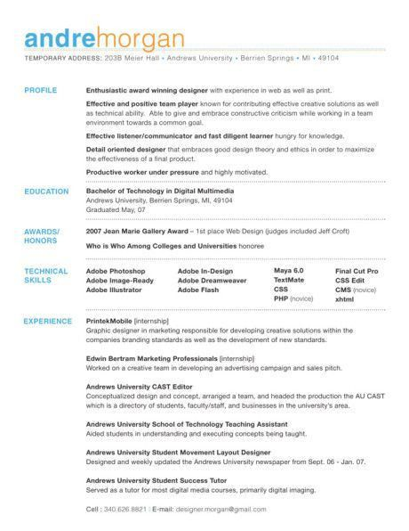 Catchy Resume Objectives Examples | resume template | Pinterest ...
