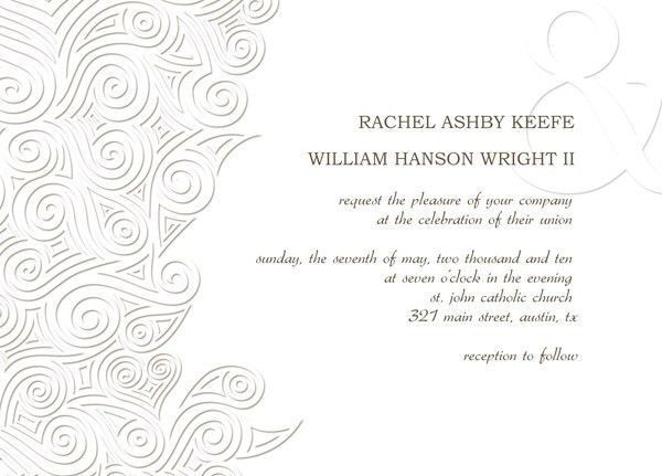 Online Wedding Invitation Design Templates | wblqual.com