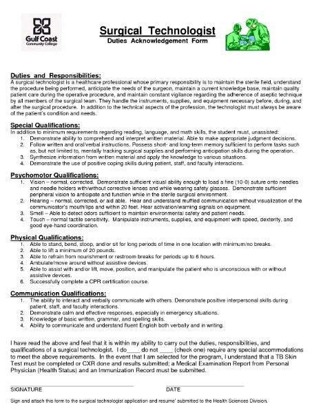 Homey Inspiration Surgical Tech Resume Sample 6 Technologist - CV ...