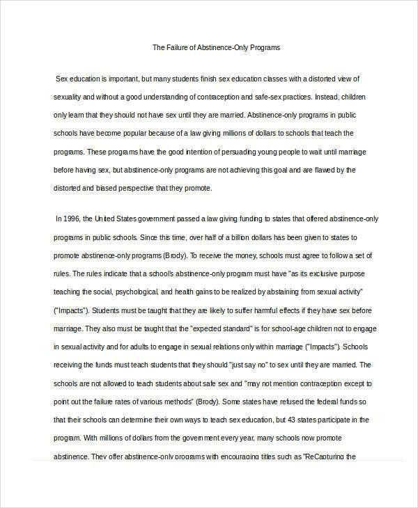 5+ Persuasive Essay Examples, Samples