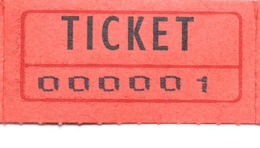 How to Get a Printable Blank Copy of Raffle Tickets | Our Pastimes