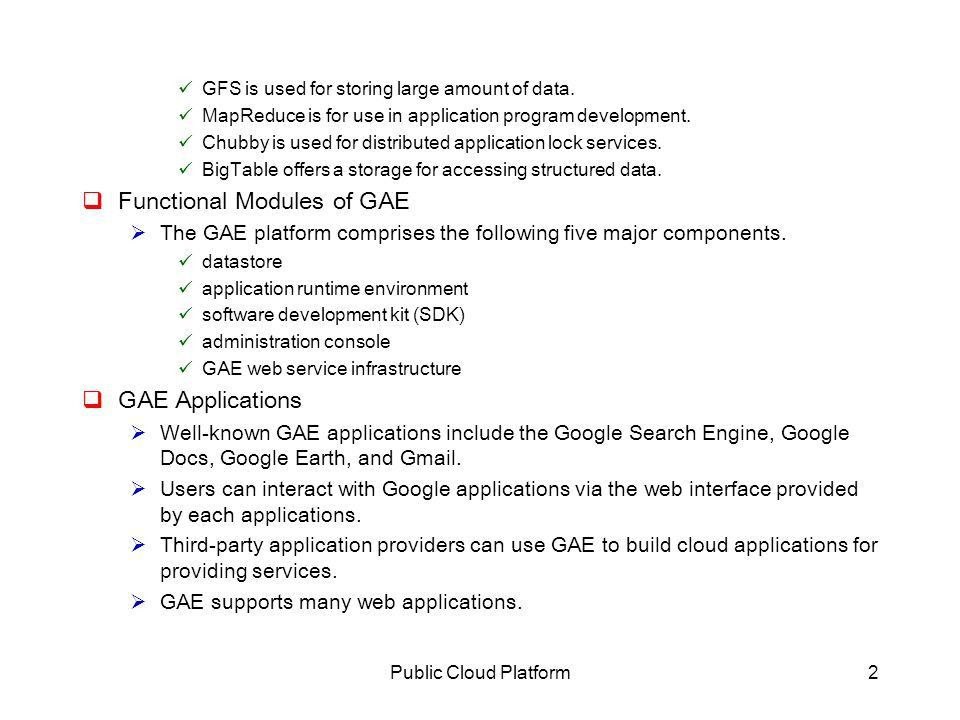 4.4 Public Cloud Platforms: GAE, AWS, and AZURE - ppt video online ...