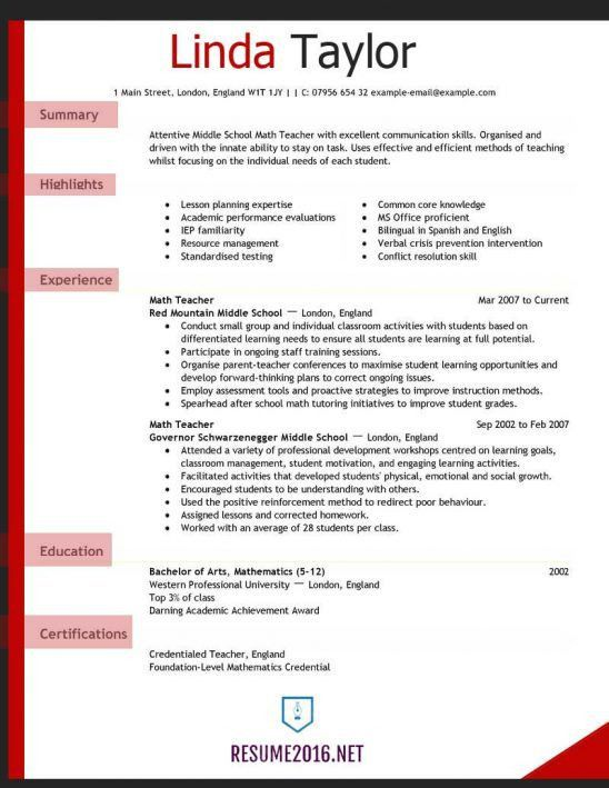 preschool teacher resume examples teacher resume sample page 1