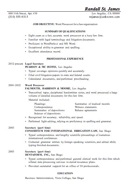 sample resume word format sample format of resume socialsci sample ...