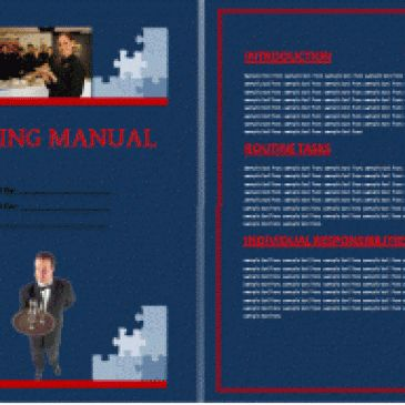 Training Guide Instruction Template Archives - Word Templates