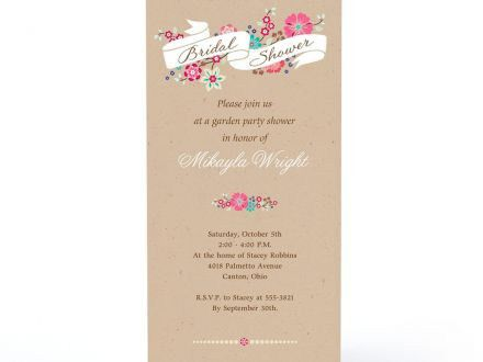 Hallmark Bridal Shower Invitations | badbrya.com