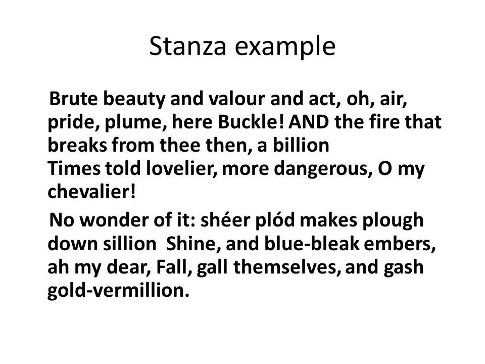 The amazing list of POETIC Elements - ppt download