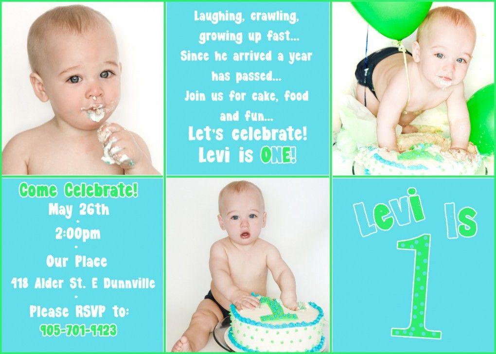 First Birthday Card Wording – gangcraft.net