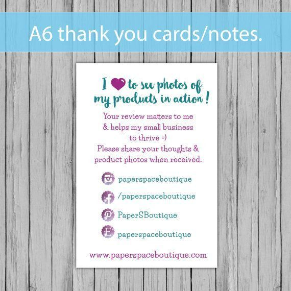 The 25+ best Business thank you cards ideas on Pinterest ...