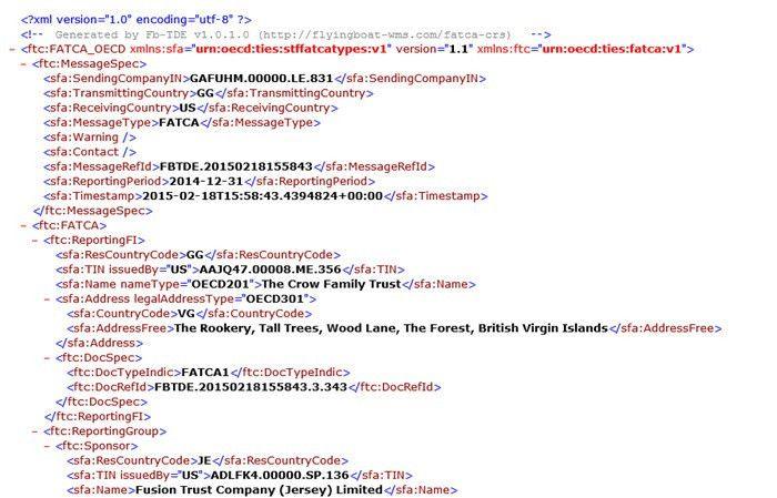 News - FATCA xml file bureau service - Flyingboat Wealth ...