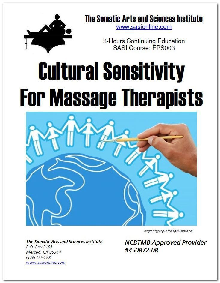 Online Massage Therapy CEUs |Cultural Sensitivity for Massage ...