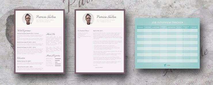Premium Resume Template Package - Creative Flair