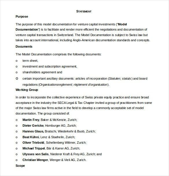 Shareholder Agreement Template – 8+ Free Word, PDF Document ...