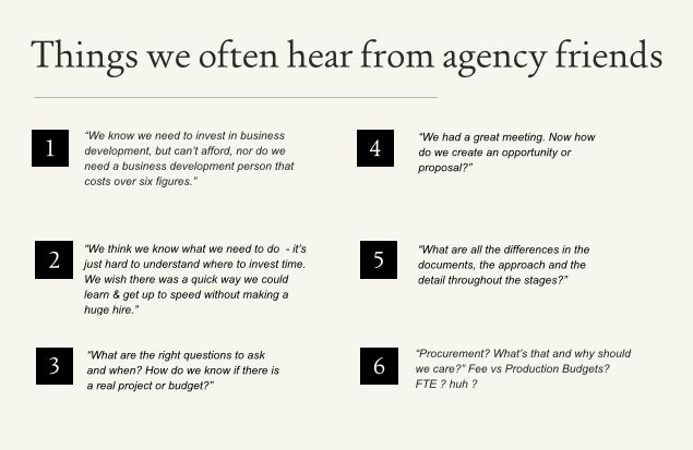 Ad Agencies : Biz Dev + Pitching – Lindsey – Medium