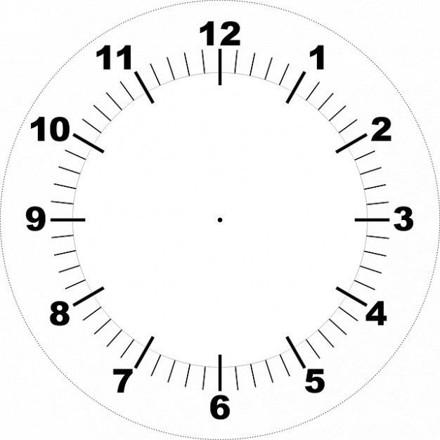 Face printable clock Photo | Free Download
