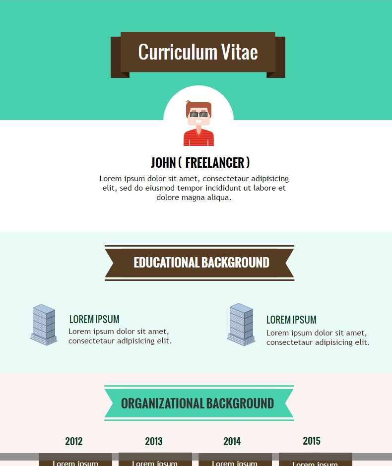 How to Create an Infographic Resume Free of Cost
