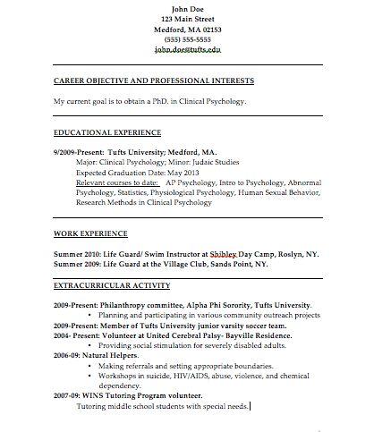 Wondrous Design Ideas Psychologist Resume 4 Clinical Psychologist ...